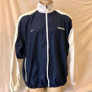 Nike Penn State Zip Up Windbreaker Jacket XL